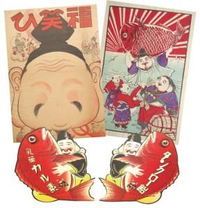人形劇の図書館コレクション展「子どもたちとえべっさん」